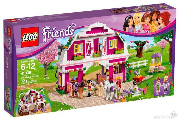Lego Friends 41039 (Ранчо Саншайн) - 2500 руб.