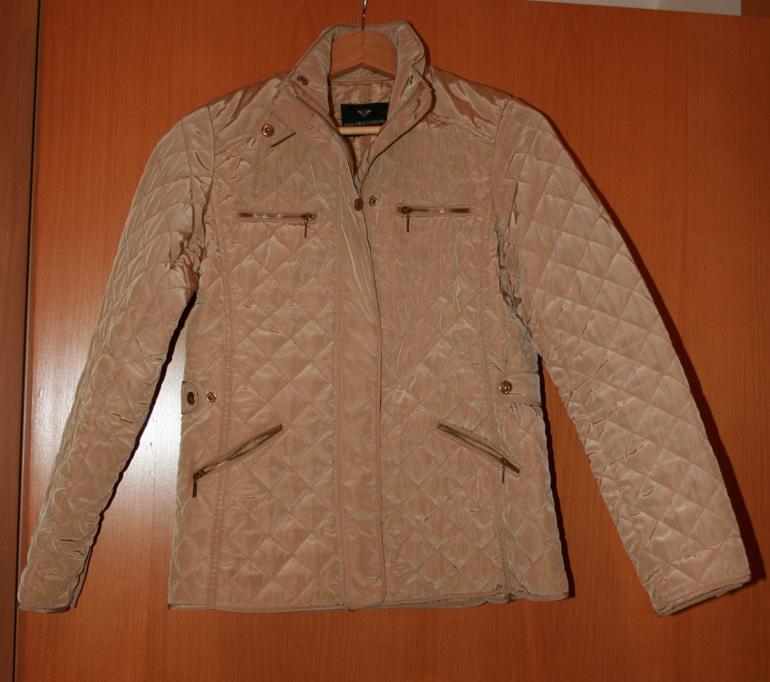 Zara плащ и куртка стеганная д/д р.13-14лет