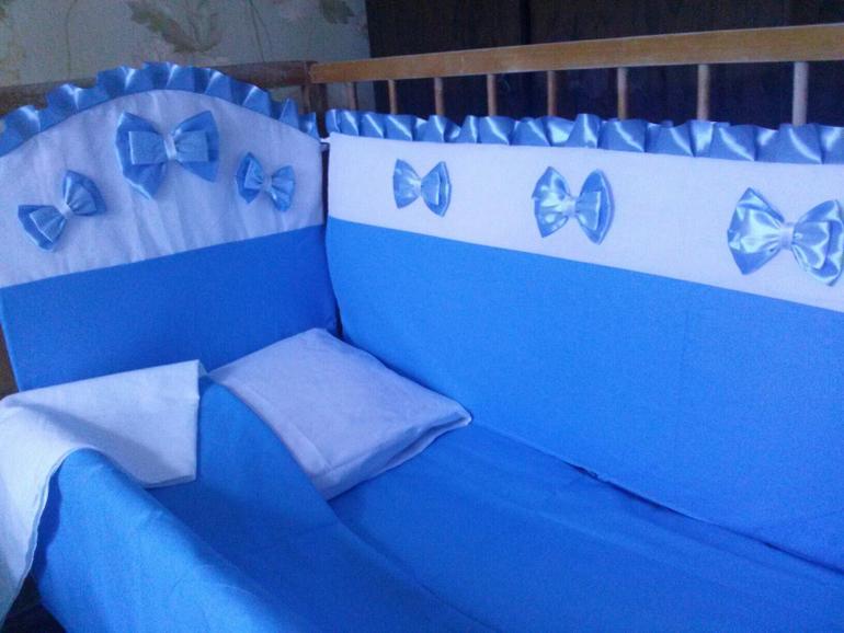 Пошив бортиков для детской кроватки своими руками