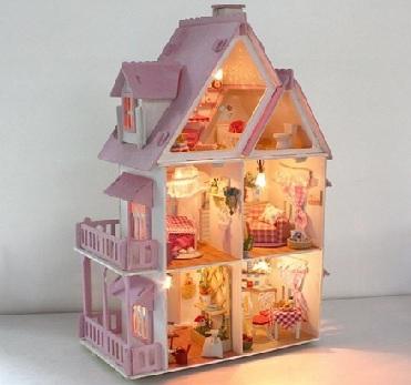 Деревянные Кукольные Домики !!!