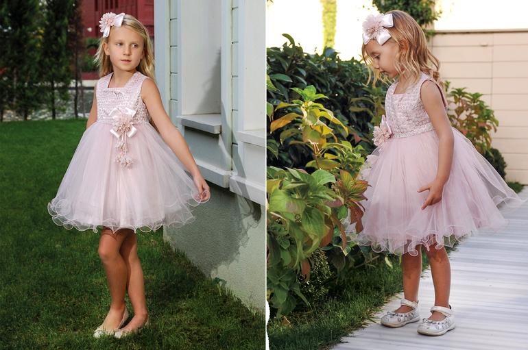 Нарядное Платье Для Девочки Турция Купить