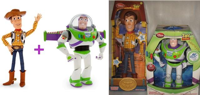 История игрушек Дисней: Базз Лайтер, Вуди, Джесси, Зург; миньоны ...