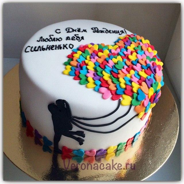 Торт с мастикой для мужа на день рождения своими руками