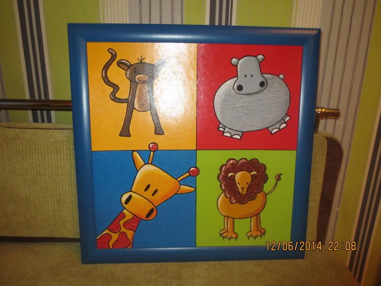 Постер картина Фрателли 49*49 цена 500 рублей