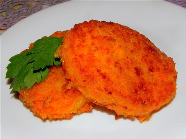 Как правильно сделать морковные котлеты