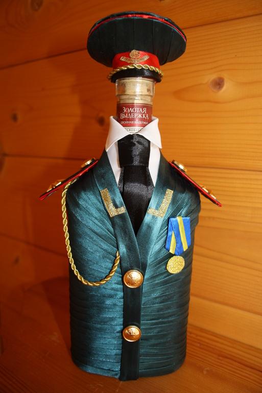 Костюмы на бутылку для мужчин