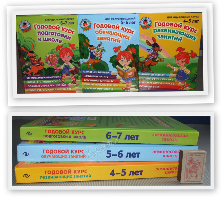 Книги ломоносовская школа