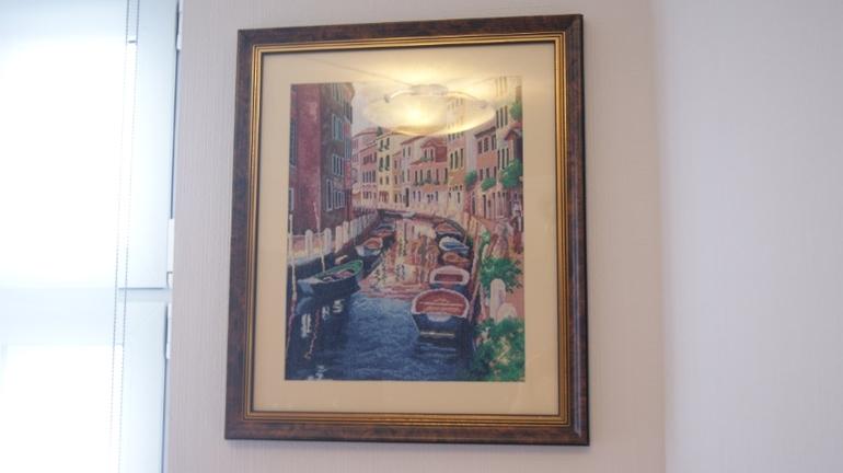 Шикарная картина Венеция Хенд-мейд