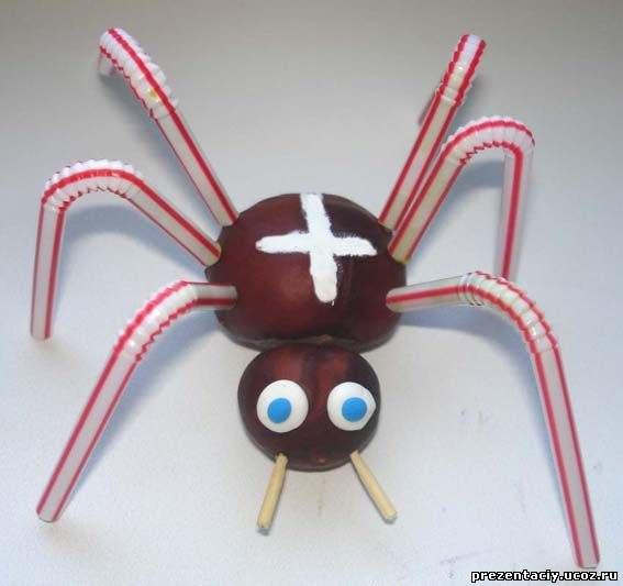 Делаем своими руками паука для