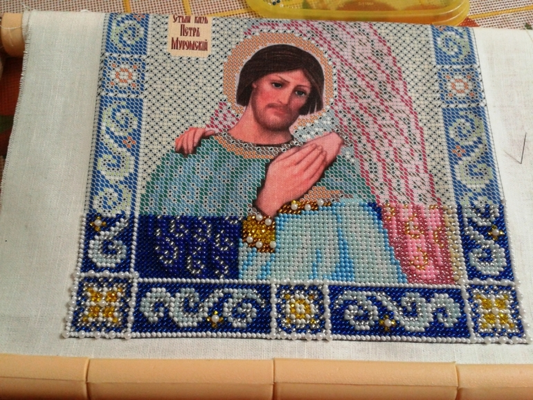 Петр и феврония муромские схема вышивки