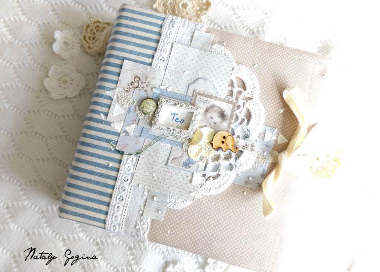 Обложка дляальбома для новорожденной