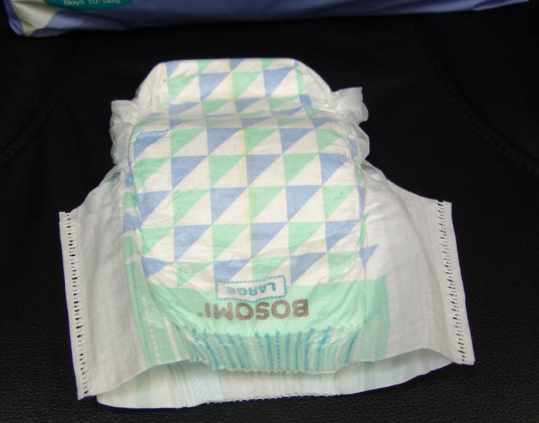ЭКО ТРУСИКИ ДЛЯ МАЛЬЧИКОВ, размер L (10 - 14 кг), 36 шт. в упаковке