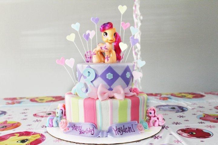Торт на день рождения для девочки 4 года
