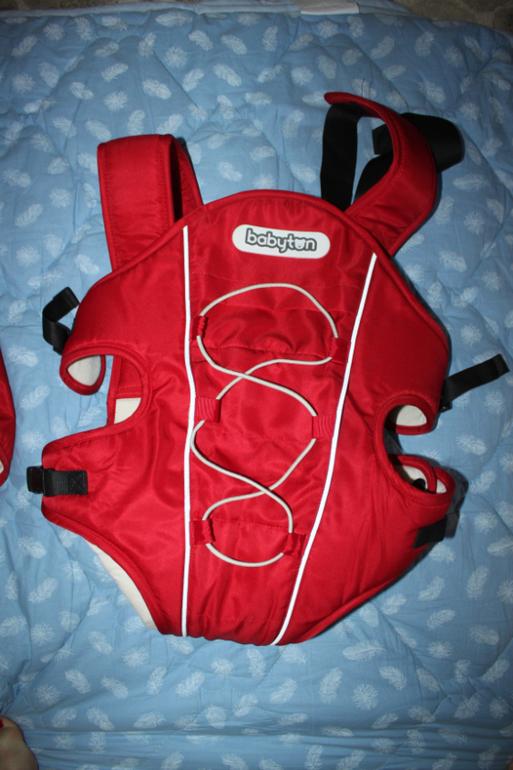 Рюкзак-переноска красный