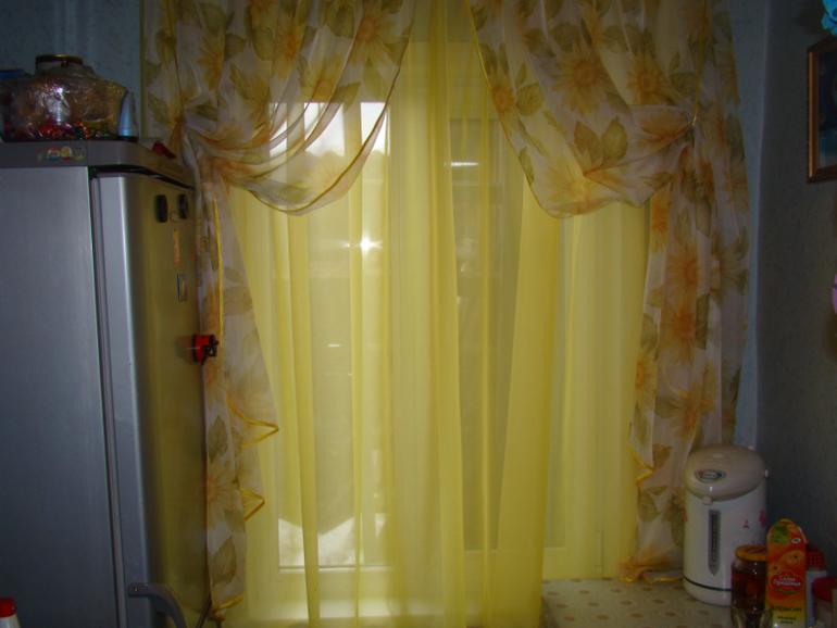 Сшить шторы из вуали фото 213