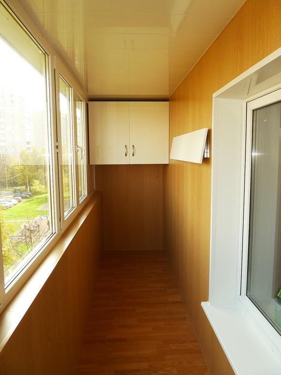 Комплексная отделка балконов и лоджий с утеплением