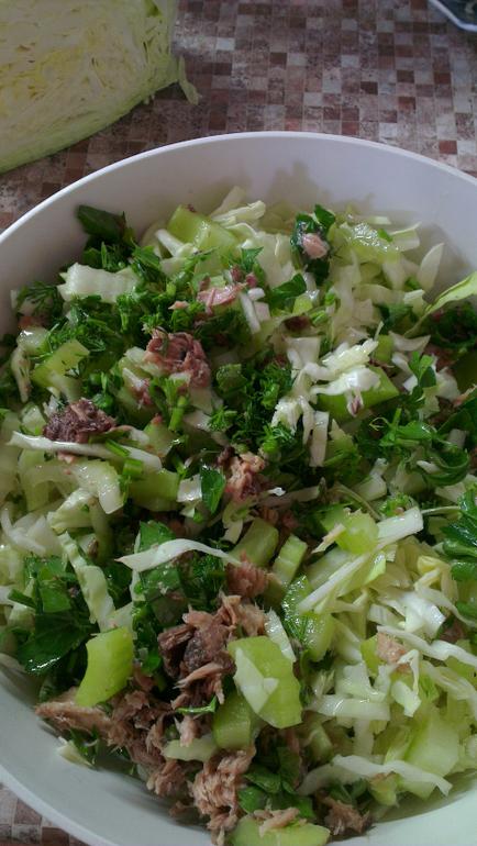 Салат для похудения