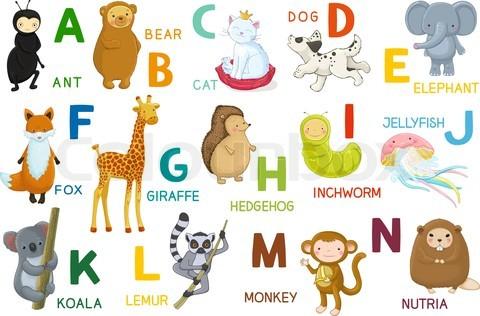 Рабочие листы для изучения английского алфавита