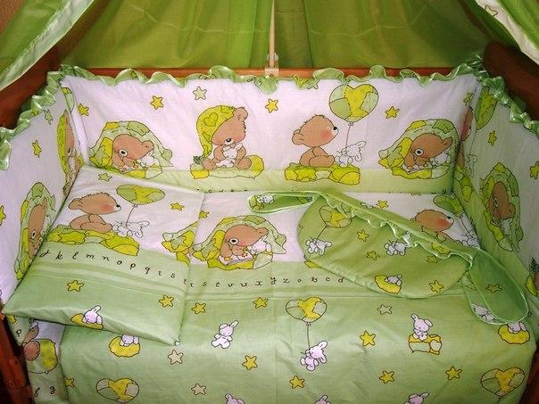 Думаю какое белье в кроватку купить?