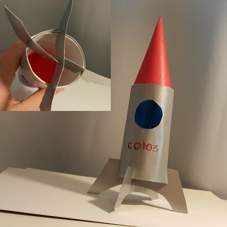 Собрать ракету своими руками 6