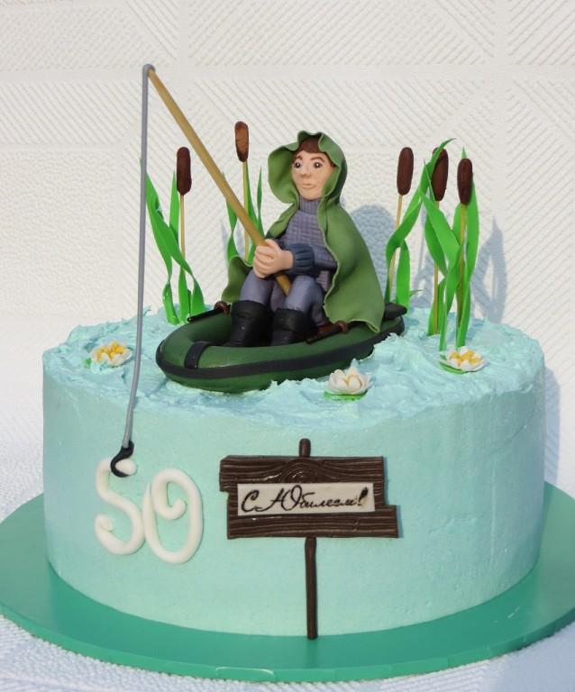 Торт для рыбака ⋆ Готовим вкусно, красиво и по-домашнему!