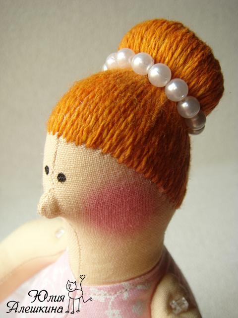 Прически для куклы тильда мастер класс