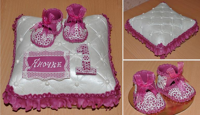 Торт подушка для девочки фото