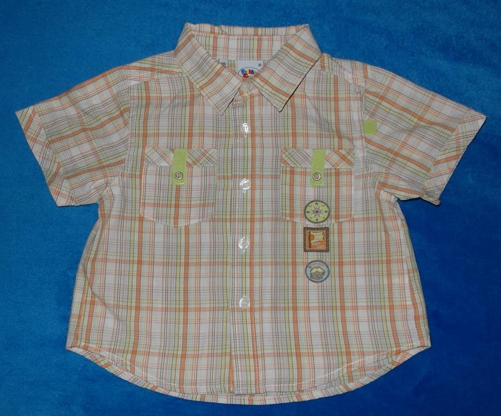 Рубашка с коротким рукавом Bubble Gum, 86 см