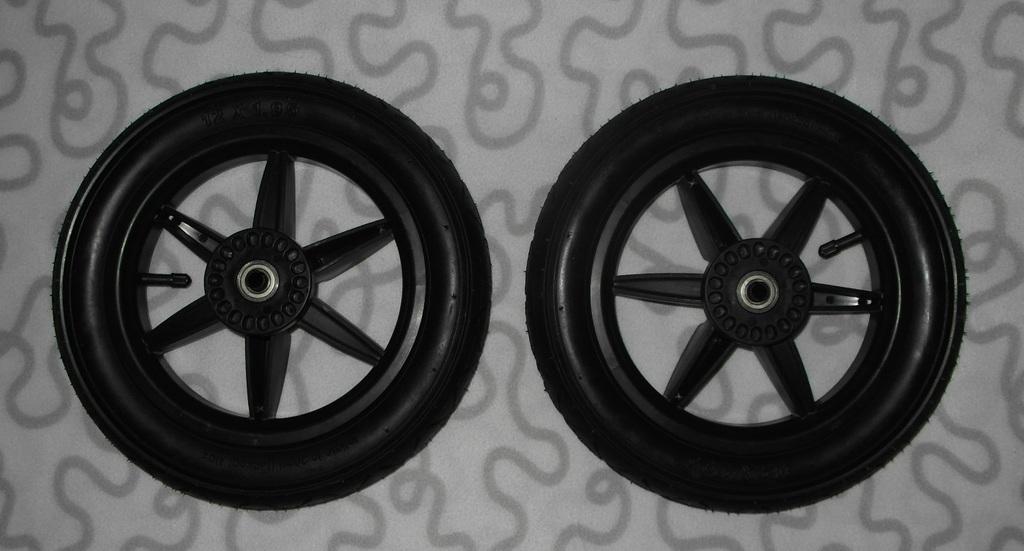 Новые сменные колеса для коляски Mountain