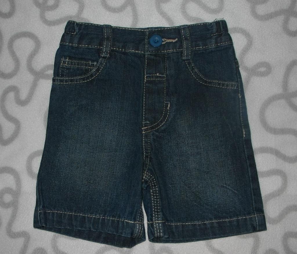 Шорты джинсовые F&F, 9-12 мес.