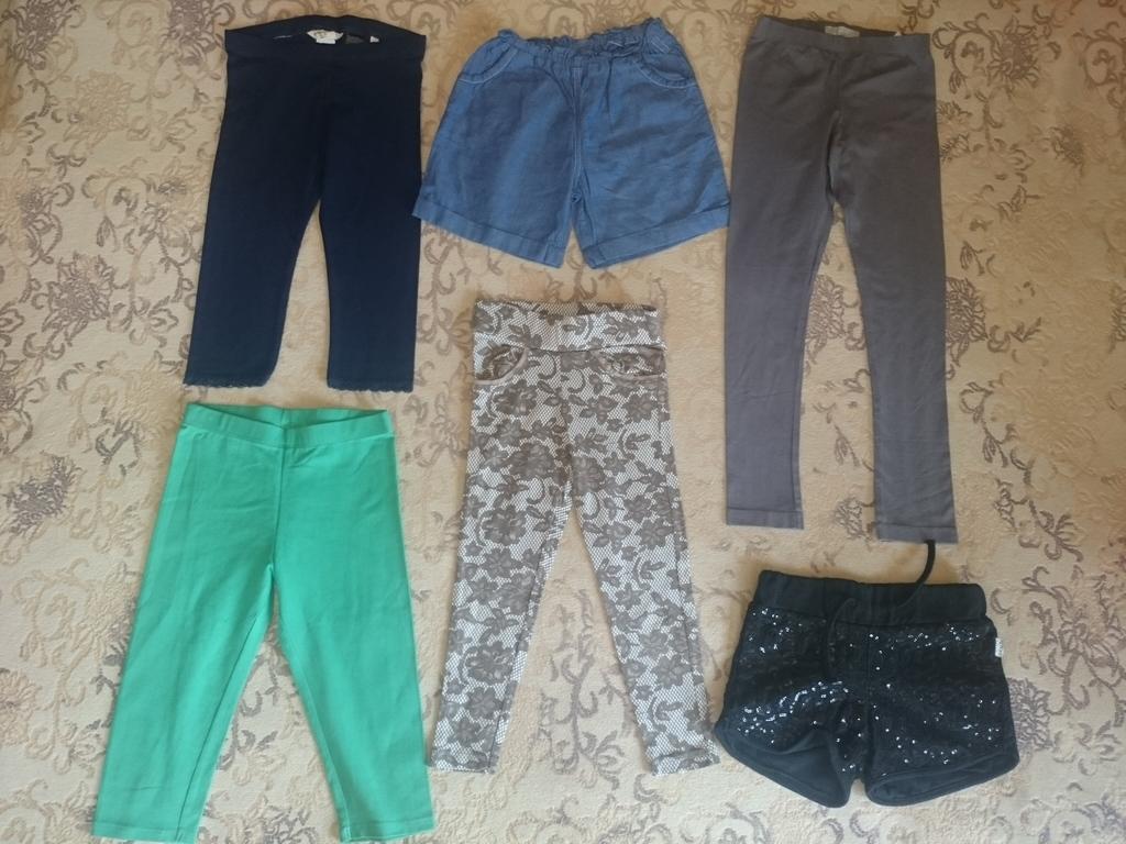 Пакет вещей на девочку рост 110-116