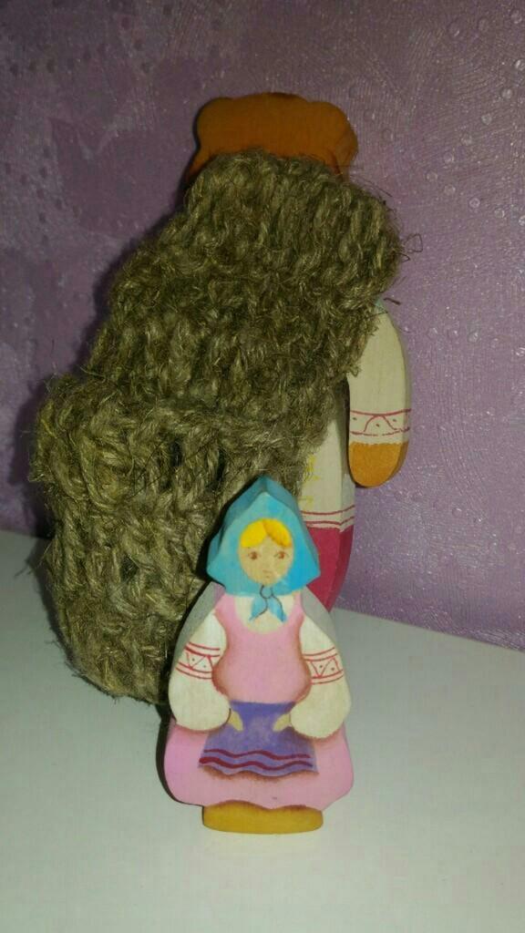 "Сказки дерева ""Маша и Медведь"""