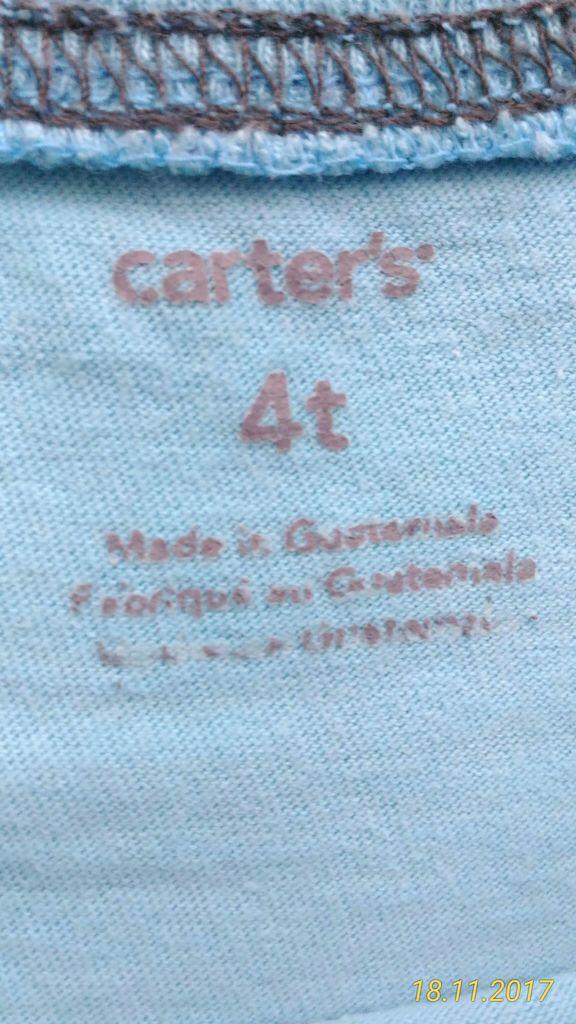 Футболка Carters, p.4T