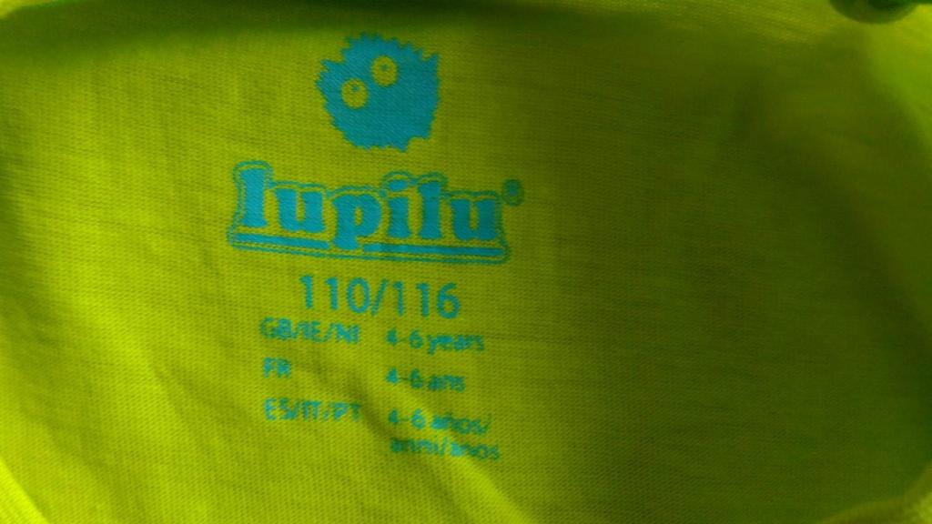 Футболка Lupilu, p.110/116