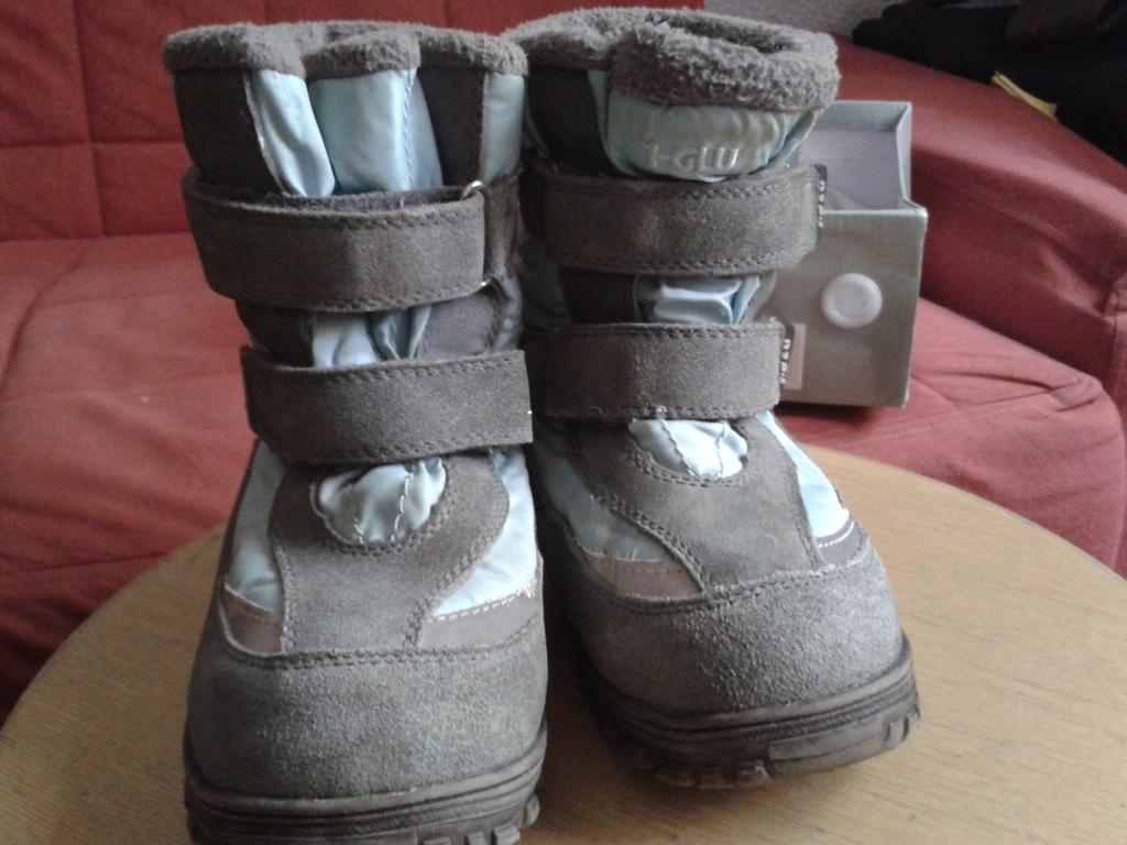 Зимние ботиночки i-GLU