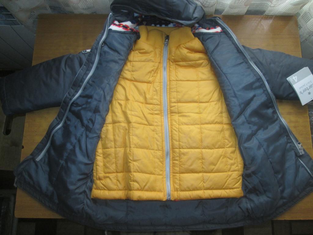 Куртка carters 3в1 104-110 см