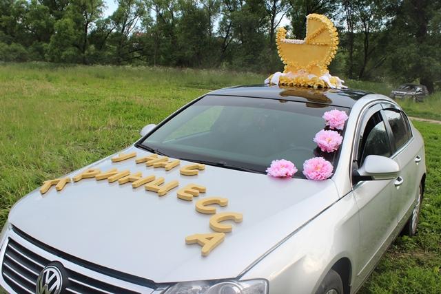 Аксессуары на машину в роддом за принцессой