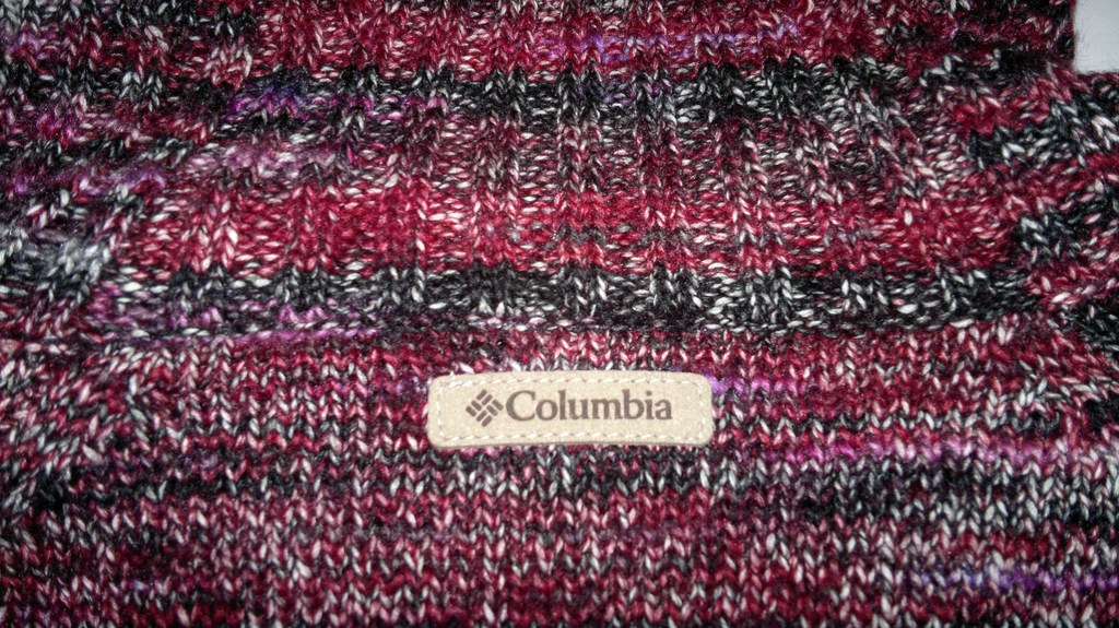 "Красивый СВИТЕР(меланж)бренд ""COLUMBIA""!!!"