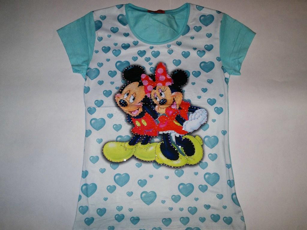 Красивые летние ФУТБОЛКИ-Disney!!!В ассортименте