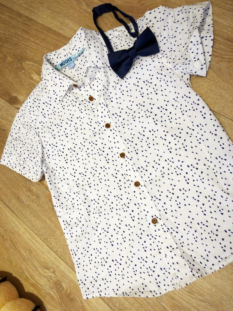 Рубашка и бабочка для мальчика