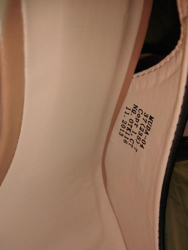 Туфли новые на танкетке, стильные яркие р.37(23,5с