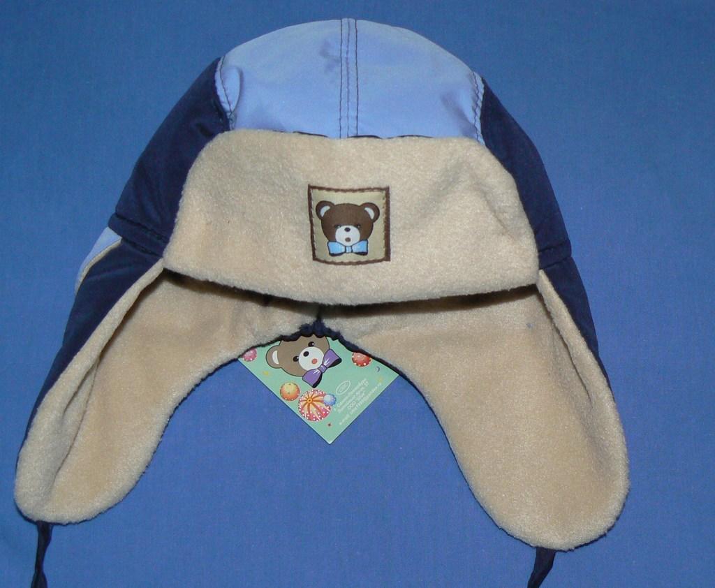 куча новых детских шапок
