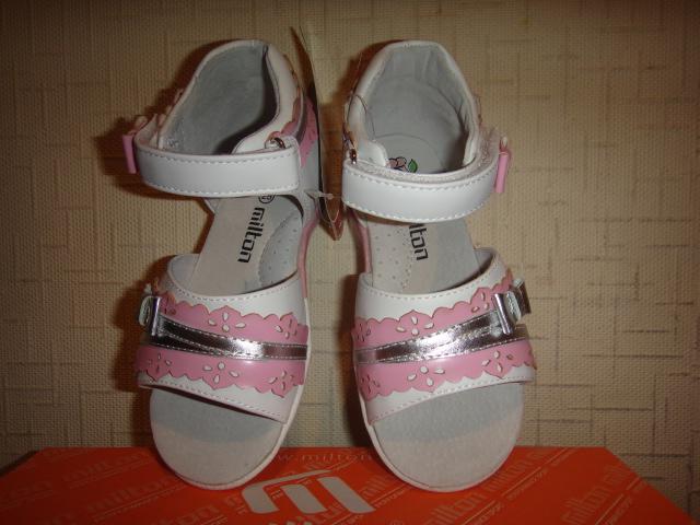 Новые сандалии Milton для девочки