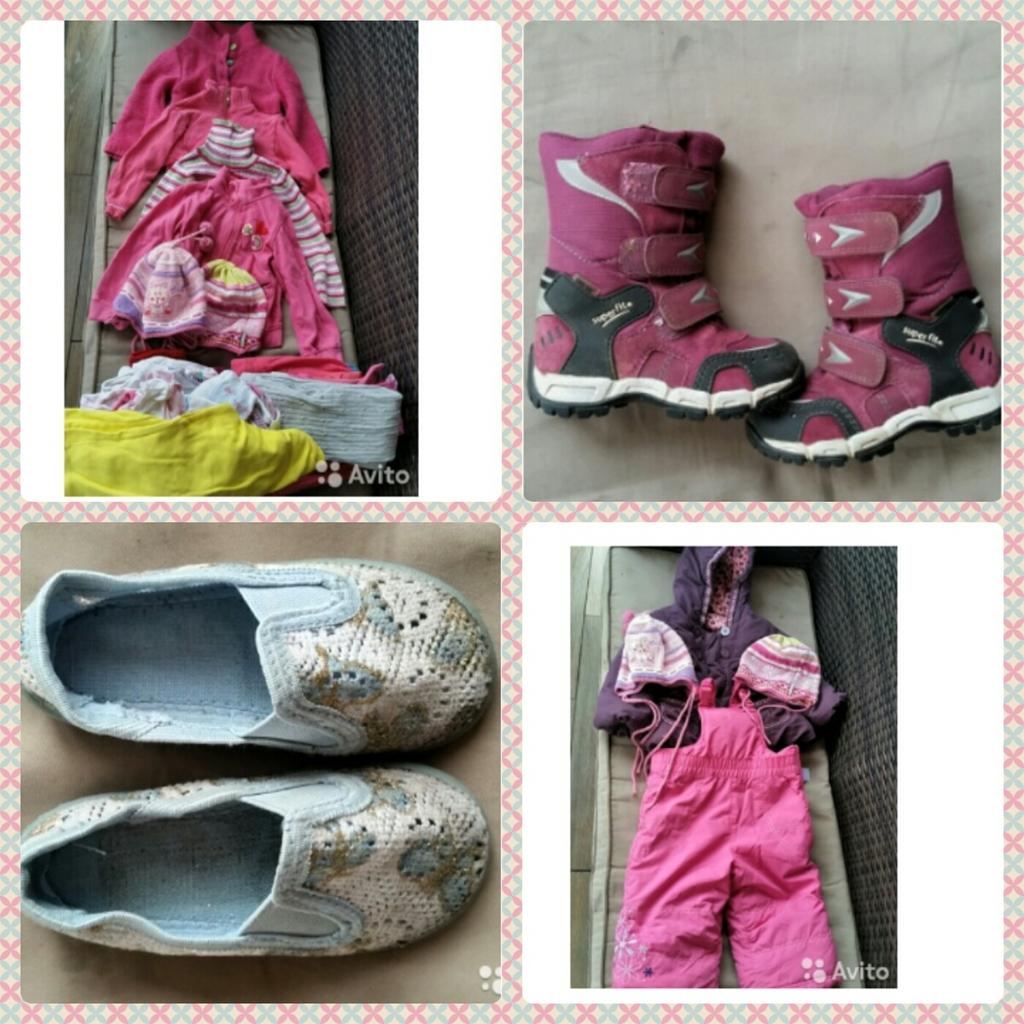 пакет вещей  mothercare для девочки 1-2