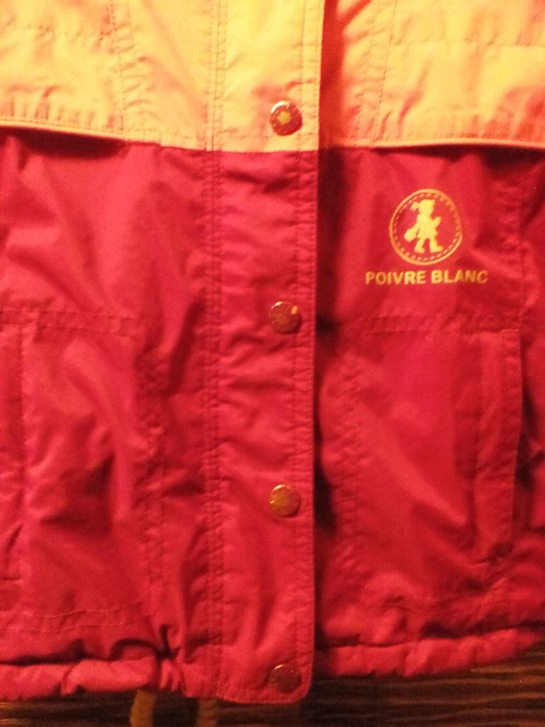 Куртка ветровка poivre blanc р. 2 Франция