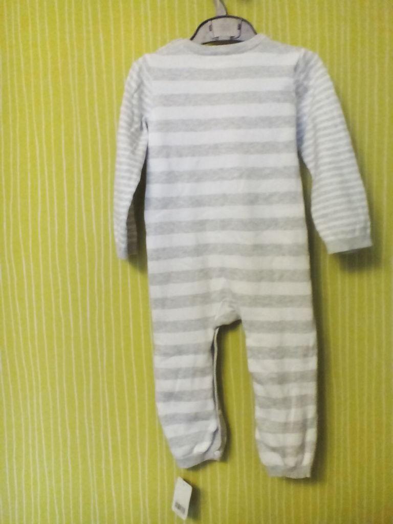 Новый вязанный Комбинезон Mothercare 12-18 хлопок