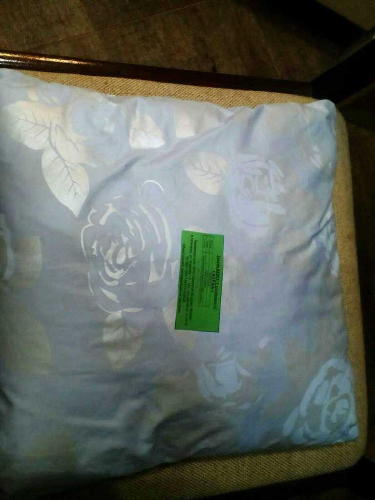 Новая Подушка сидушка из бересты 35х35