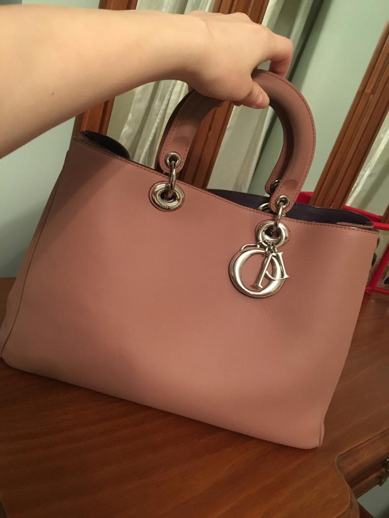 реплику сумки диор не отличить от оригинала