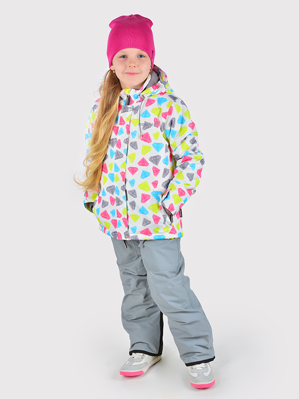 Новый зимний комплект Crockid цветной на девочку