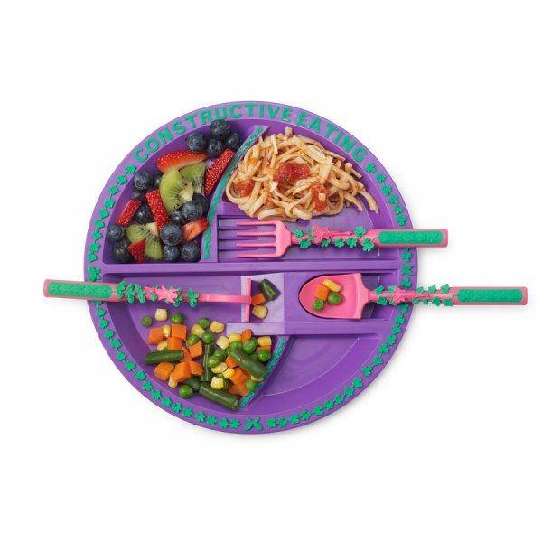 Новый набор посуды Constructive Eating для девочки